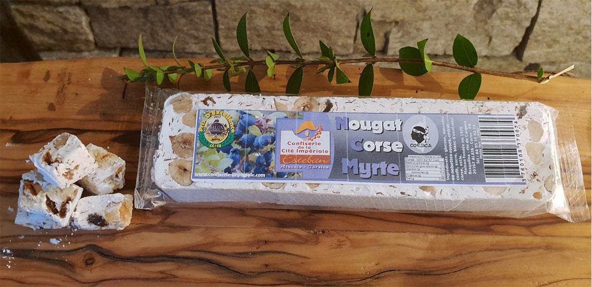 Nougat Corse à la Myrte